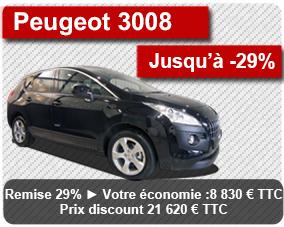 ACHAT Peugeot 3008