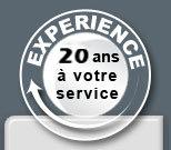 20 ans d'exp�rience � votre service