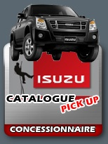 Isuzu Catalogue Pick-up - concessionnaire