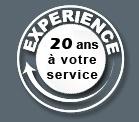 20 ans d'experience � votre service