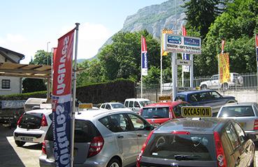 Parc VO auto Meylan Garage Auto Nautic