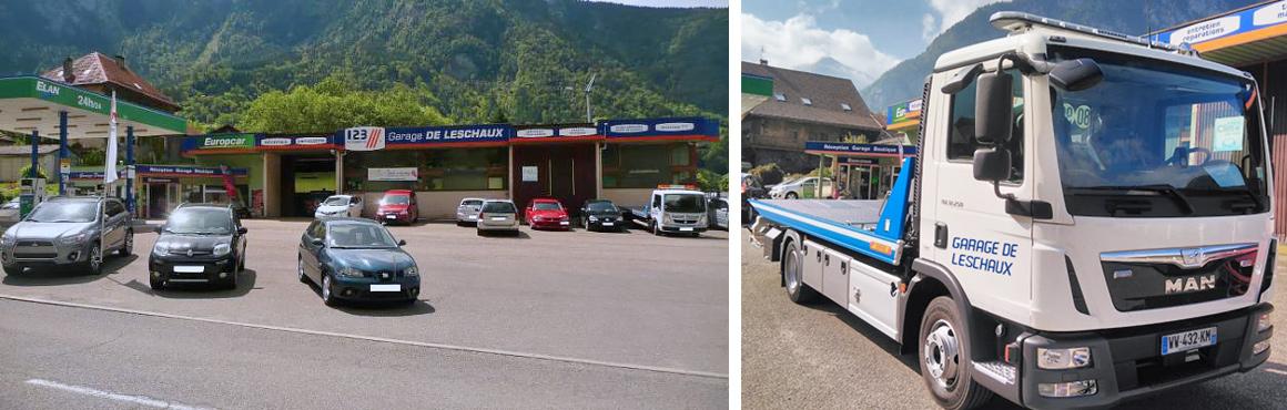Garage de Leschaux