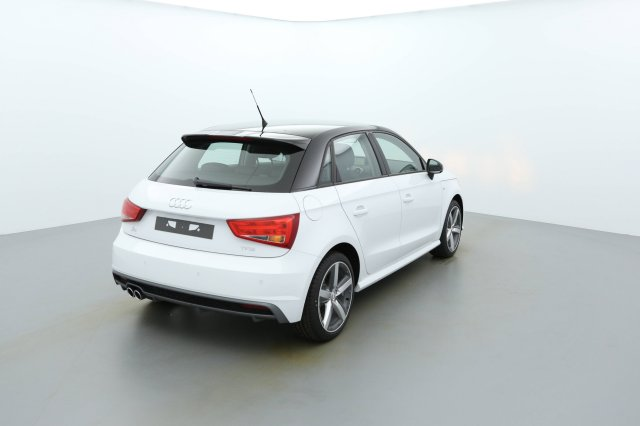 audi a1 sportback neuf brest 1 4 tfsi 125 s tronic 7 blanc glacier toit noir finist re. Black Bedroom Furniture Sets. Home Design Ideas