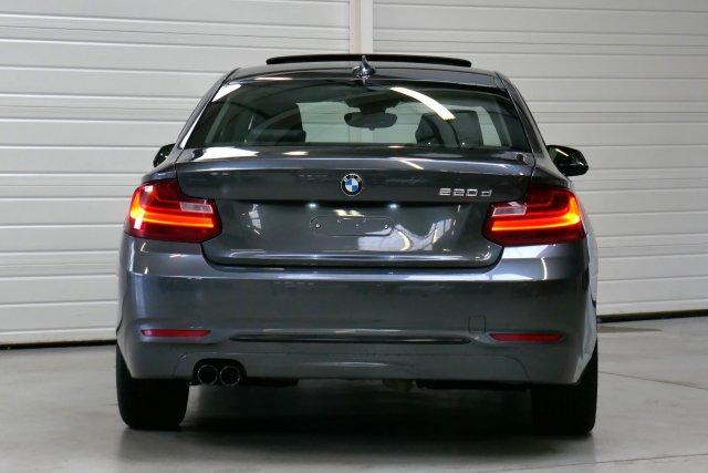 annonce BMW SERIE 2 COUPE 220d 190 ch Sport A occasion Brest Bretagne