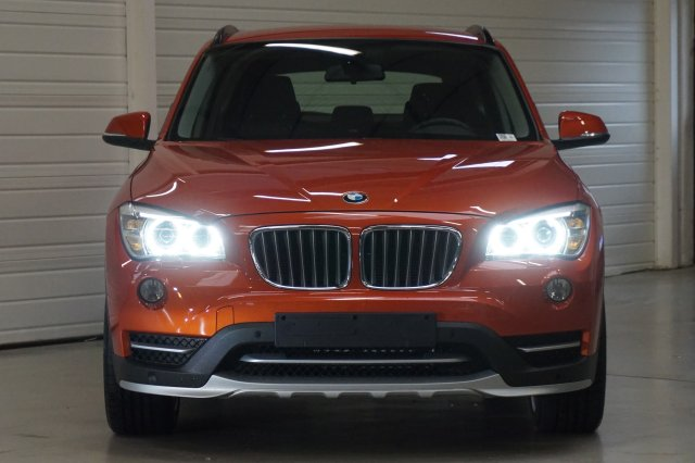 bmw x1 e84 lci 2 occasion brest xdrive 18d 143 ch xline a orange valencia metallic finist re. Black Bedroom Furniture Sets. Home Design Ideas