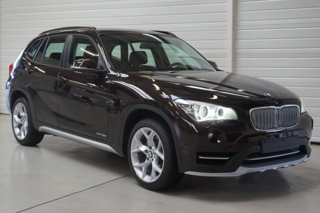 bmw x1 e84 lci 2 occasion brest xdrive 18d 143 ch xline a sparkling brown metallic finist re. Black Bedroom Furniture Sets. Home Design Ideas