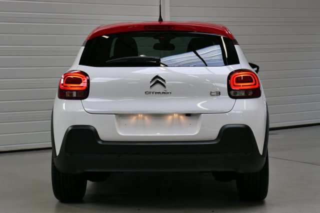 citroen c3 nouvelle neuf brest puretech 82 shine blanc banquise toit rouge finist re bretagne. Black Bedroom Furniture Sets. Home Design Ideas