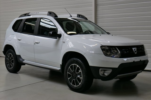 dacia duster neuf brest dci 110 4x2 black touch 2017 blanc glacier finist re bretagne. Black Bedroom Furniture Sets. Home Design Ideas