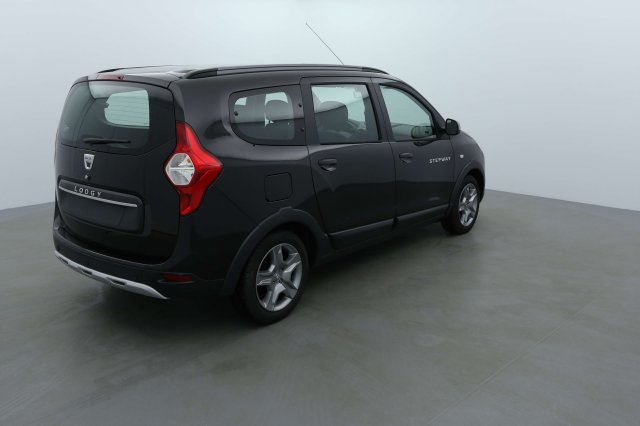 dacia lodgy neuf brest dci 110 7 places stepway noir nacr finist re bretagne. Black Bedroom Furniture Sets. Home Design Ideas
