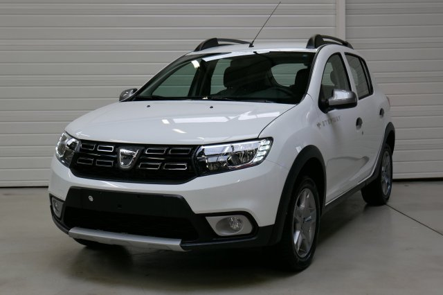 dacia sandero nouvelle neuf brest tce 90 stepway blanc glacier finist re bretagne. Black Bedroom Furniture Sets. Home Design Ideas