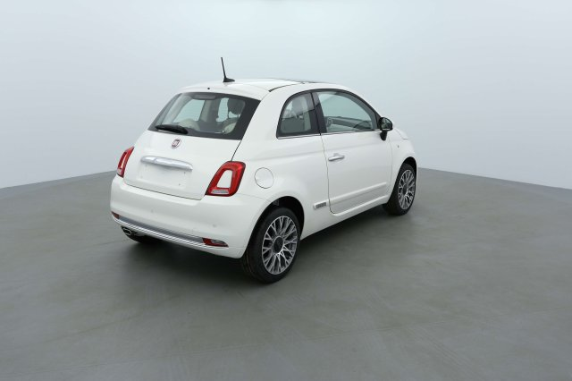fiat 500 neuf brest 1 2 69 ch lounge bossa nova white. Black Bedroom Furniture Sets. Home Design Ideas
