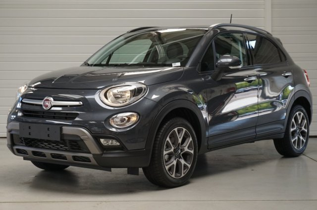 fiat 500x neuf brest 1 6 multijet 120 ch cross gris argento finist re bretagne. Black Bedroom Furniture Sets. Home Design Ideas