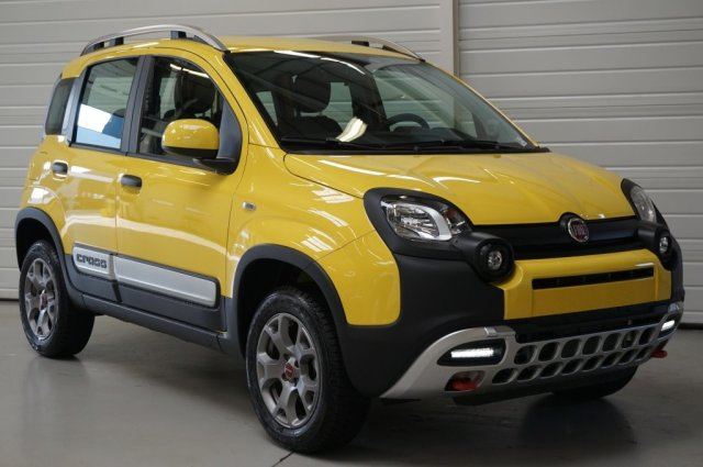 fiat panda 4x4 neuf brest 0 9 twinair turbo 90 ch s s cross jaune citron finist re bretagne. Black Bedroom Furniture Sets. Home Design Ideas