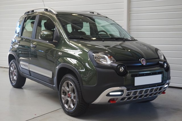 fiat panda 4x4 neuf brest 0 9 twinair turbo 90 ch s s cross vert toscane finist re bretagne. Black Bedroom Furniture Sets. Home Design Ideas