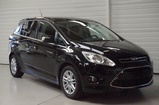 ford grand c max occasion brest 1 6 tdci 115 fap titanium x noir scala finist re bretagne. Black Bedroom Furniture Sets. Home Design Ideas