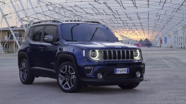 annonce JEEP RENEGADE 1.3 GSE T4 150 CH BVR6 LIMITED neuf Brest Bretagne