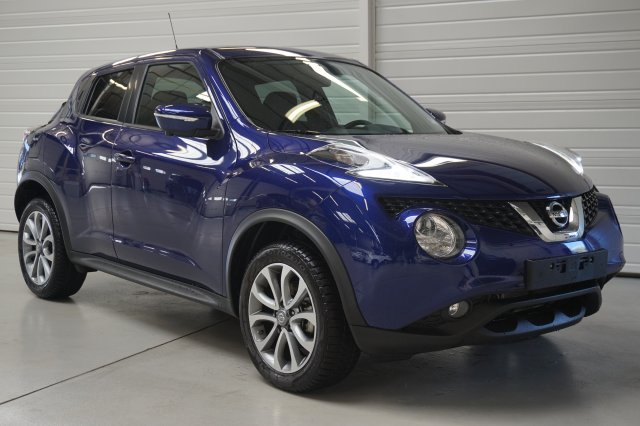 nissan juke occasion brest dig t 115 start stop system connect edition bleu indigo. Black Bedroom Furniture Sets. Home Design Ideas