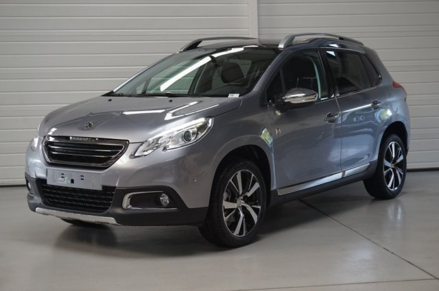 peugeot 2008 neuf brest 1 6 bluehdi 100ch bvm5 crossway gris artense finist re bretagne. Black Bedroom Furniture Sets. Home Design Ideas