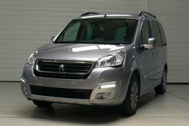 Peugeot partner tepee occasion brest 1 6 bluehdi 100ch bvm5 style gris artense finist re - Console centrale peugeot partner tepee ...