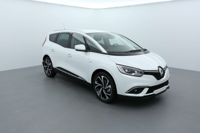 renault grand scenic iv neuf brest tce 130 energy intens 7 places blanc nacr finist re. Black Bedroom Furniture Sets. Home Design Ideas