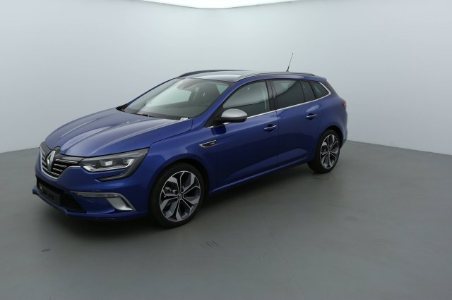 renault megane estate neuf brest dci 130 energy intens bleu iron finist re bretagne. Black Bedroom Furniture Sets. Home Design Ideas
