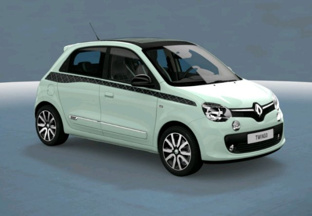 renault twingo neuf brest 0 9 tce 90 la parisienne edc vert pistache finist re bretagne. Black Bedroom Furniture Sets. Home Design Ideas