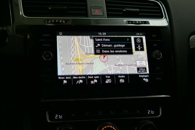 annonce VOLKSWAGEN GOLF VII 1.4 TSI 125 BlueMotion Technology DSG7 Confortline neuf Brest Bretagne